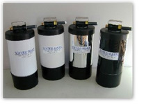 portable water softener comes in 4 different colors